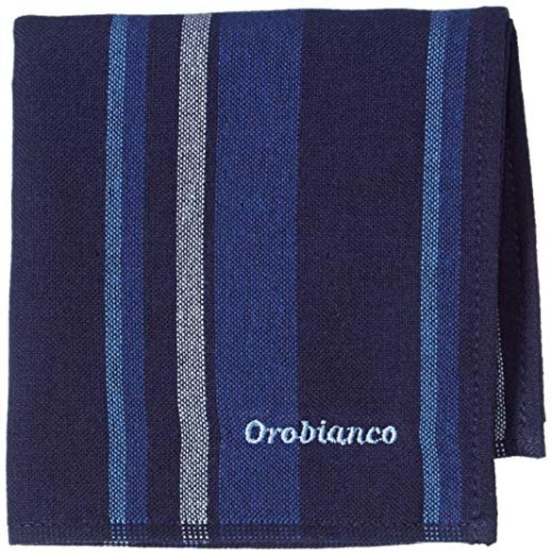 Orobianco(オロビアンコ),タオルハンカチ ネイビー
