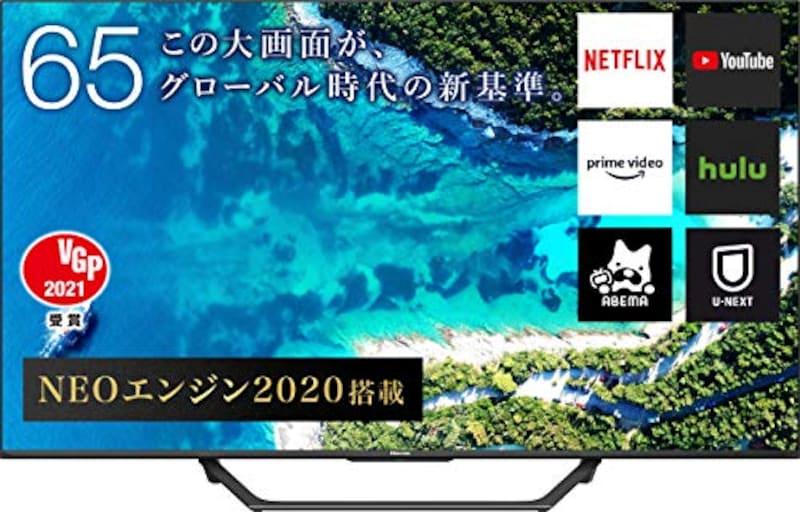Hisense(ハイセンス),液晶テレビ 2020年モデル,65U7F