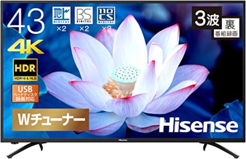 Hisense(ハイセンス),液晶テレビ,43F68E