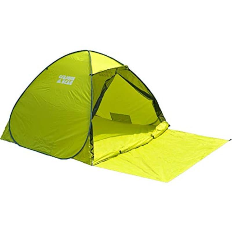 タンスのゲン,テント ワンタッチ 幅200cm 1-2人用