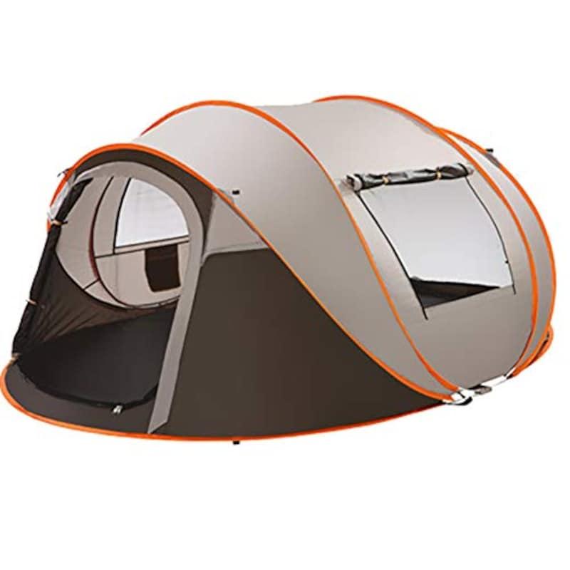 QQLK,自動クイックオープンテント