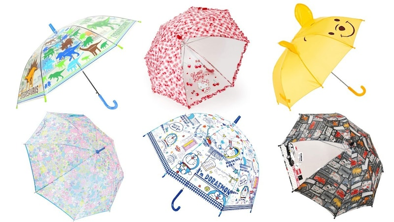 子供用雨傘のおすすめランキング20選|雨の日も楽しく!サイズや男の子、女の子向けも紹介