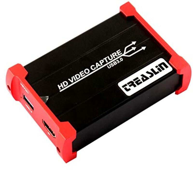 HotSpot Tech,TreasLin USB3.0 HDMI ビデオキャプチャーボード,HSV321