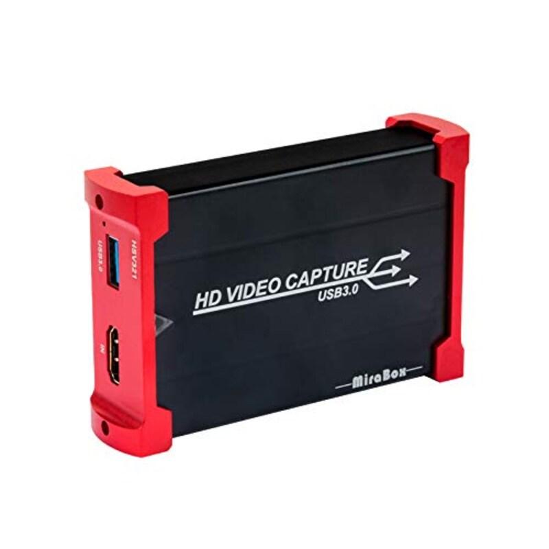 Mirabox,キャプチャボード USB 3.0