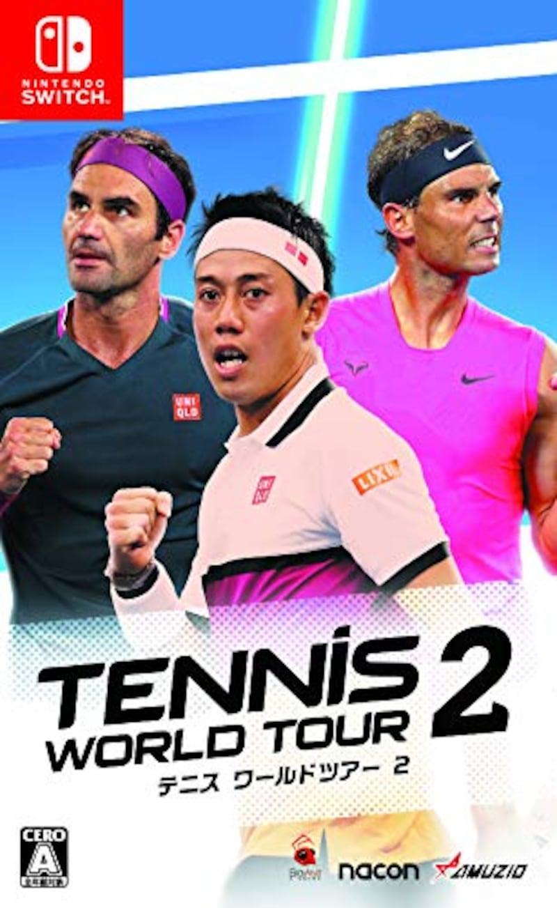オーイズミ・アミュージオ,テニス ワールドツアー 2