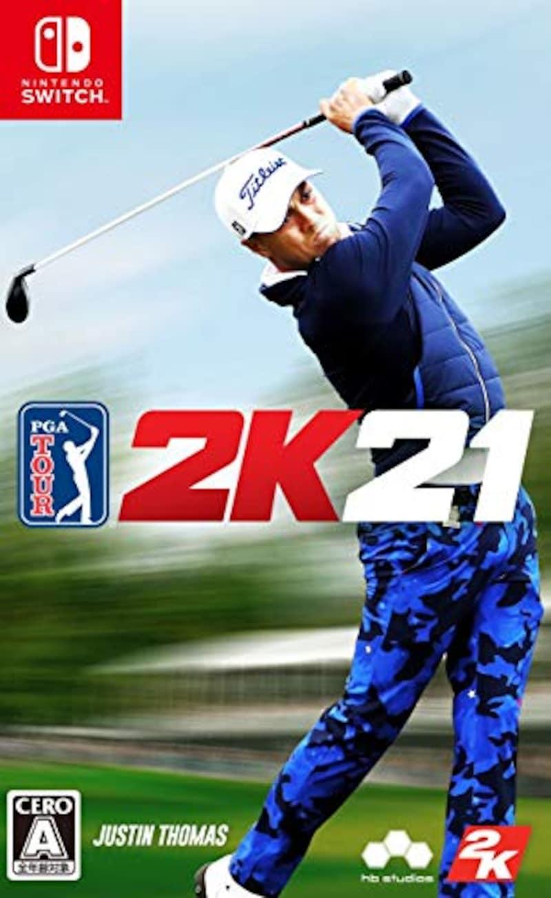 テイクツー・インタラクティブ・ジャパン,ゴルフ PGAツアー 2K21