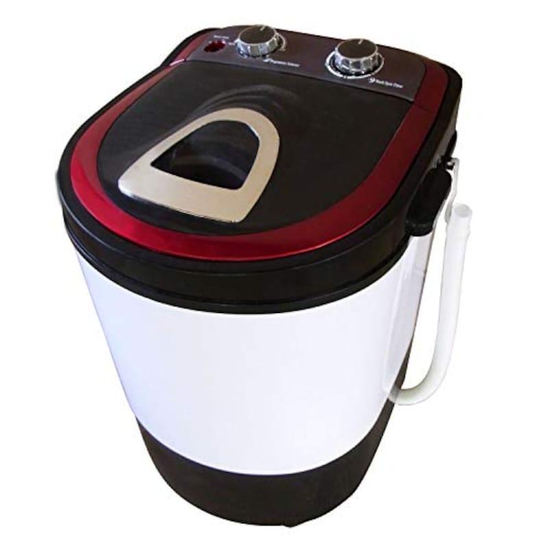 サンルック(SunRuck),小型洗濯機,SR-W020-RD