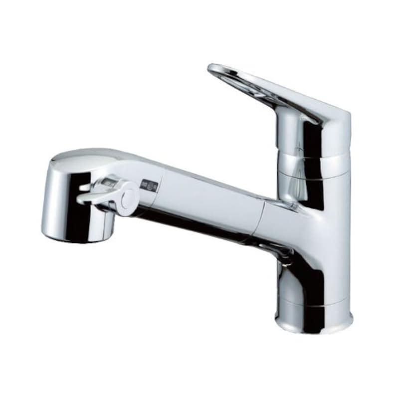 LIXIL(リクシル),キッチン用浄水器内蔵シングルレバー混合水栓(寒冷地用),RJF-771YN