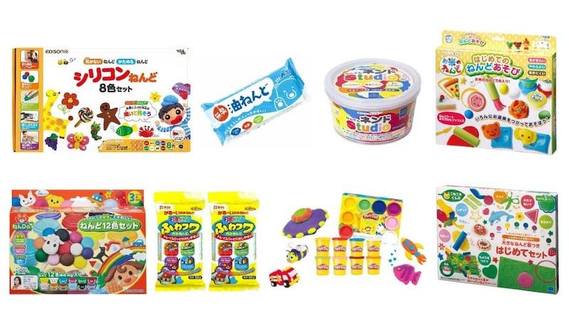 粘土のおすすめ人気ランキング17選|遊びで子供の想像力アップ!2、3歳から小学生まで年齢別に紹介