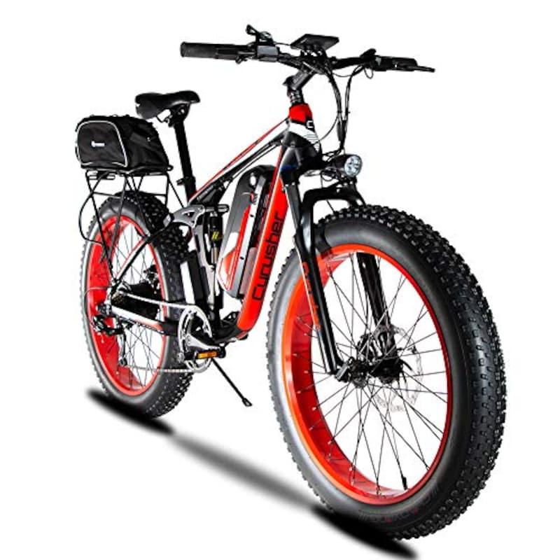 Excy,XF800 26インチファションバイク フルアシスト自転車,XF800+bag