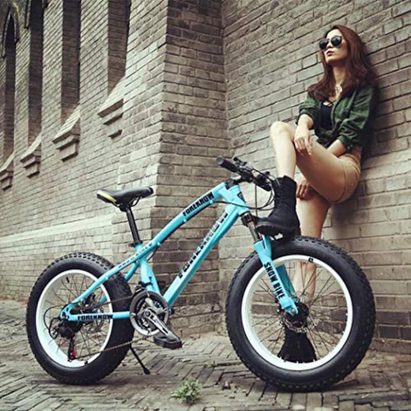 "WLWLEO,アダルトティーンのための20"" マウンテンバイク自転車"