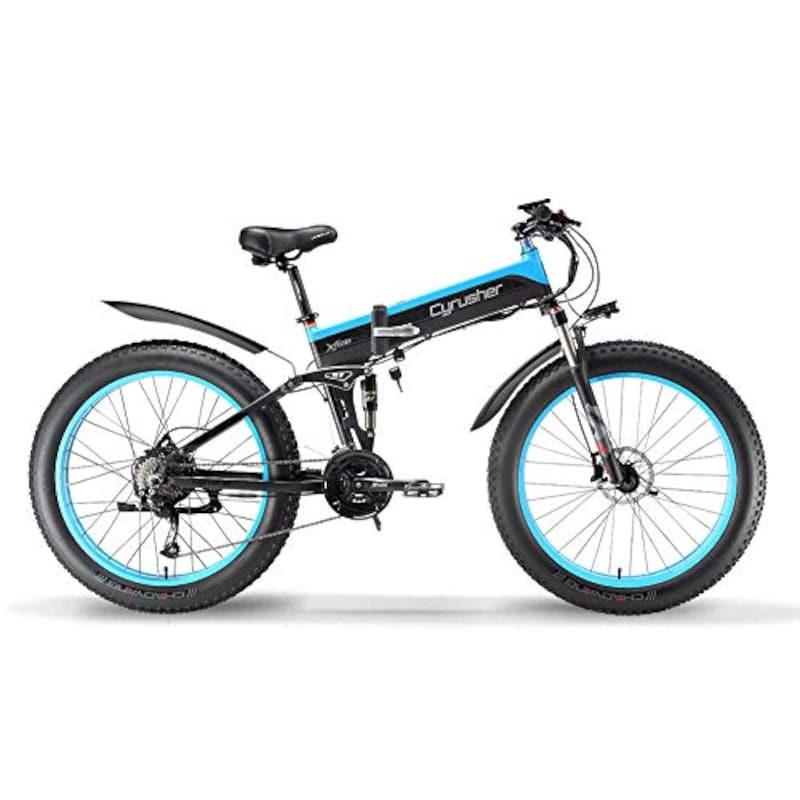 EXCY,フルアシスト自転車 折り畳み自転車 ファットバイク,XF690