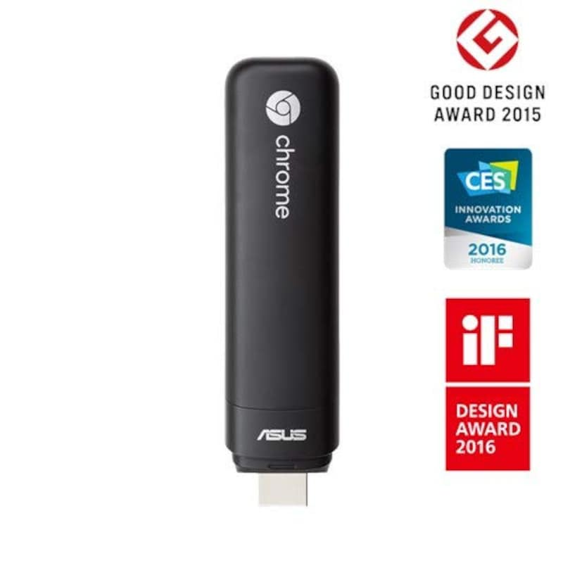 ASUS,スティック型 Chrome OS デバイス Chromebit