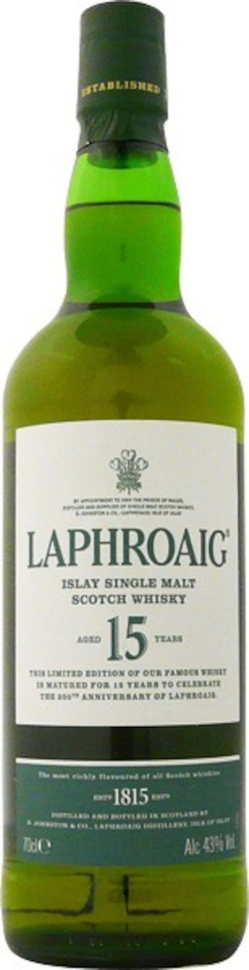 LAPHROAIG(ラフロイグ),ラフロイグ 15年 200周年記念ボトル