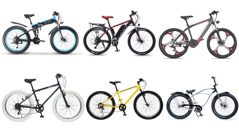 【2021】ファットバイクおすすめ人気ランキング28選|電動、折りたたみタイプも!ブロンクスなども紹介