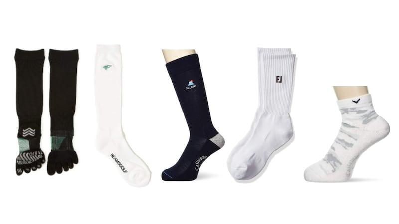 メンズゴルフソックスおすすめ人気ランキング19選|5本指靴下や滑り止め機能のあるものを紹介!