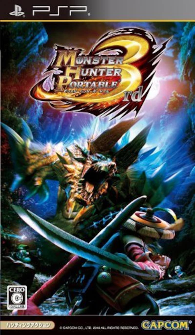 CAPCOM(カプコン),Monster Hunter 3rd(モンスターハンターポータブル3rd)