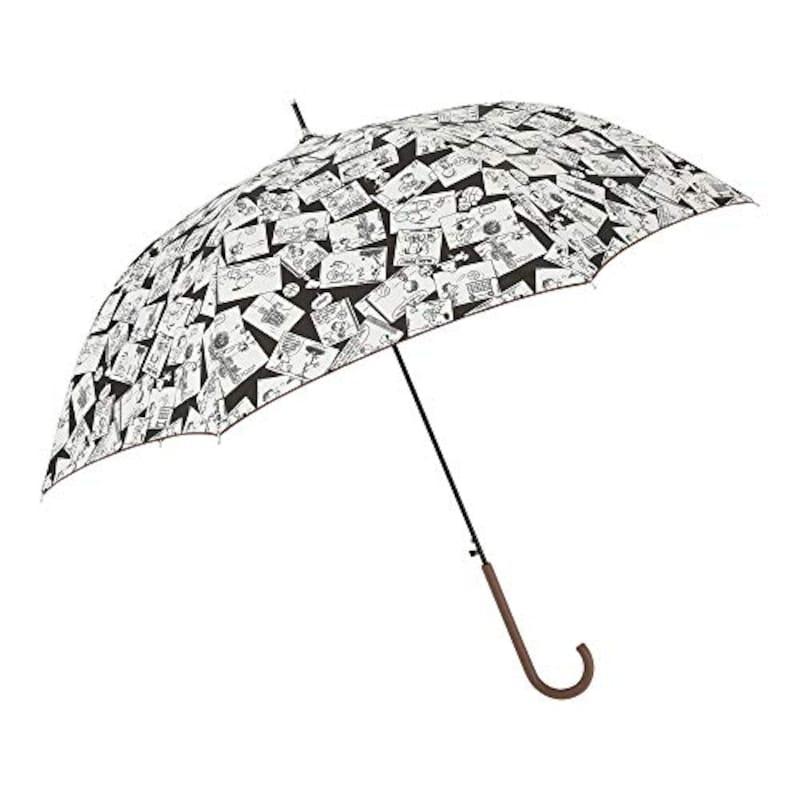 Ogawa(小川),長傘 雨晴兼用雨傘 ピーナッツ スヌーピー