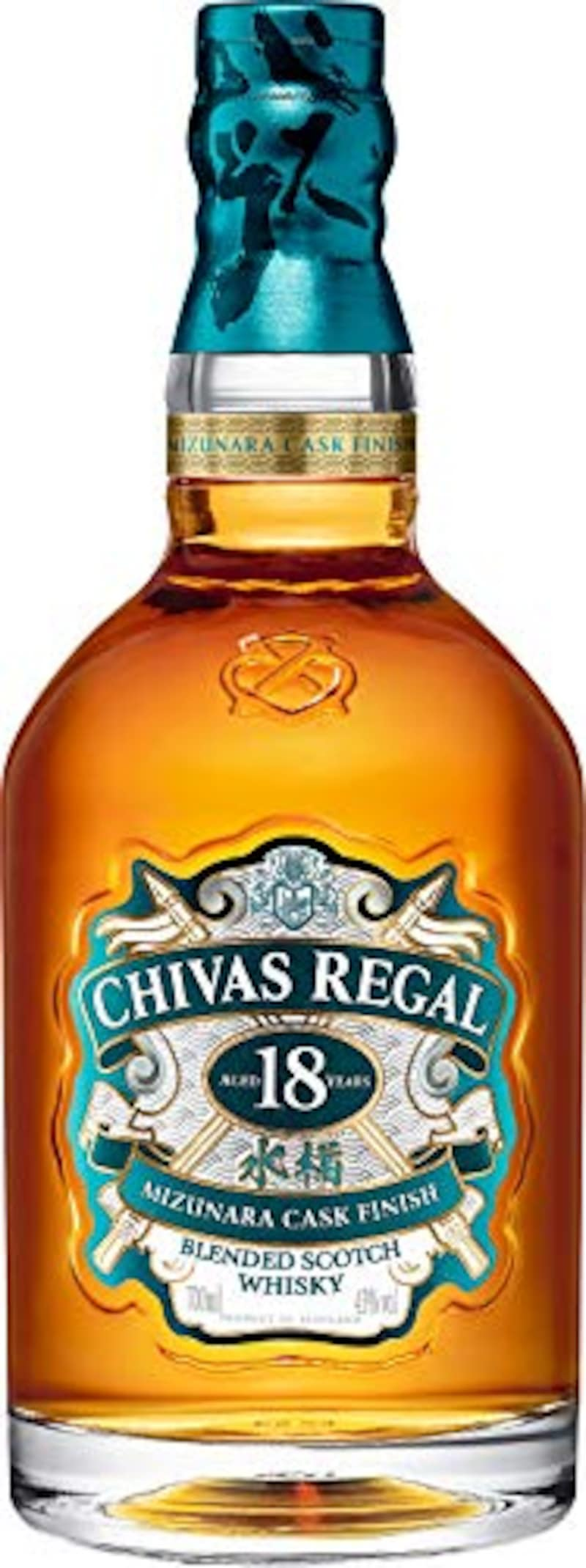 Chivas Regal (シーバスリーガル),シーバスリーガル 18 年 ミズナラ カスク フィニッシュ