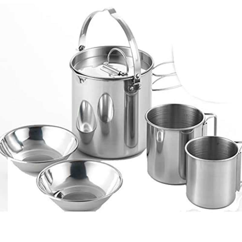 CAMPAM,調理器具&食器5点セット,不明