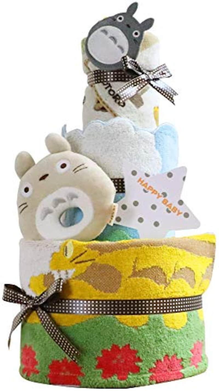 スタジオジブリ,となりのトトロ おむつケーキ,New_totoro2d