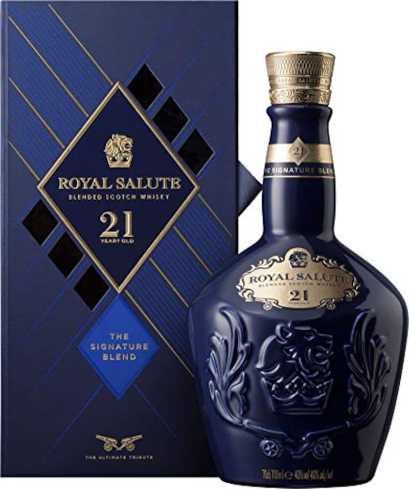 Chivas Regal (シーバスリーガル),ロイヤルサルート 21年 シグネチャー ブレンド 青ボトル