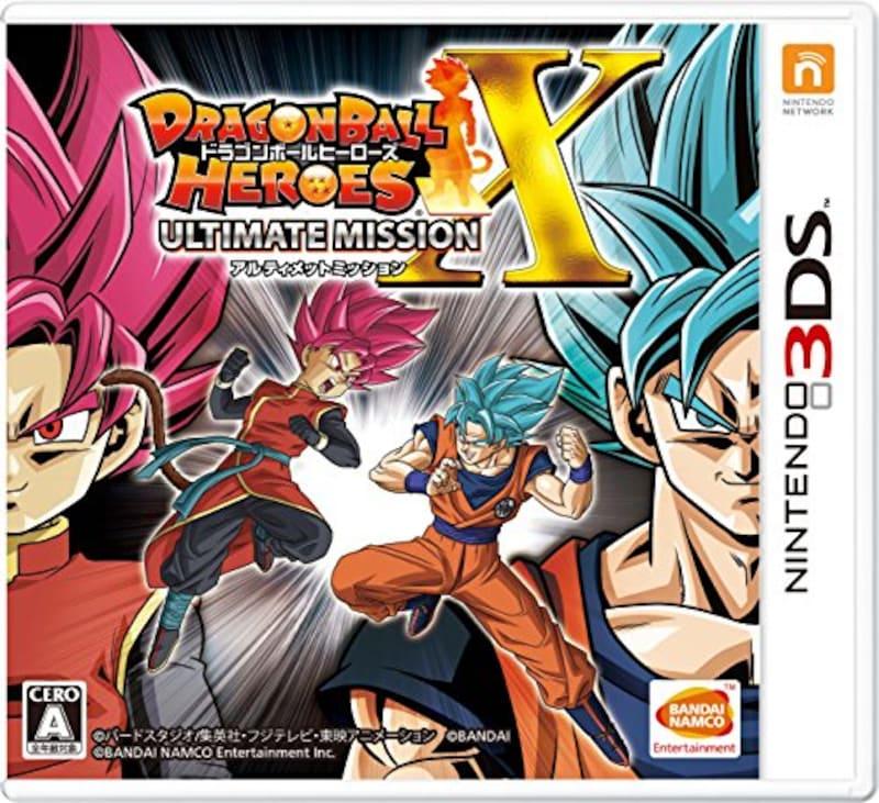 バンダイナムコエンターテインメント,ドラゴンボールヒーローズ アルティメットミッションX,4573173313254