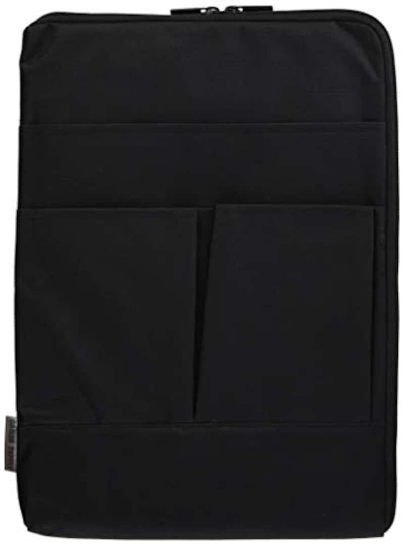 サンワサプライ,整理収納バッグインバッグ(縦型) A4対応,IN-GHBB1BK