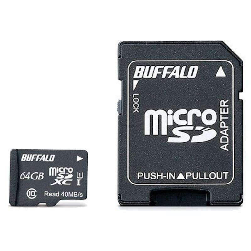 BUFFALO(バッファロー),microSDカード,RMSD-032GU1SA