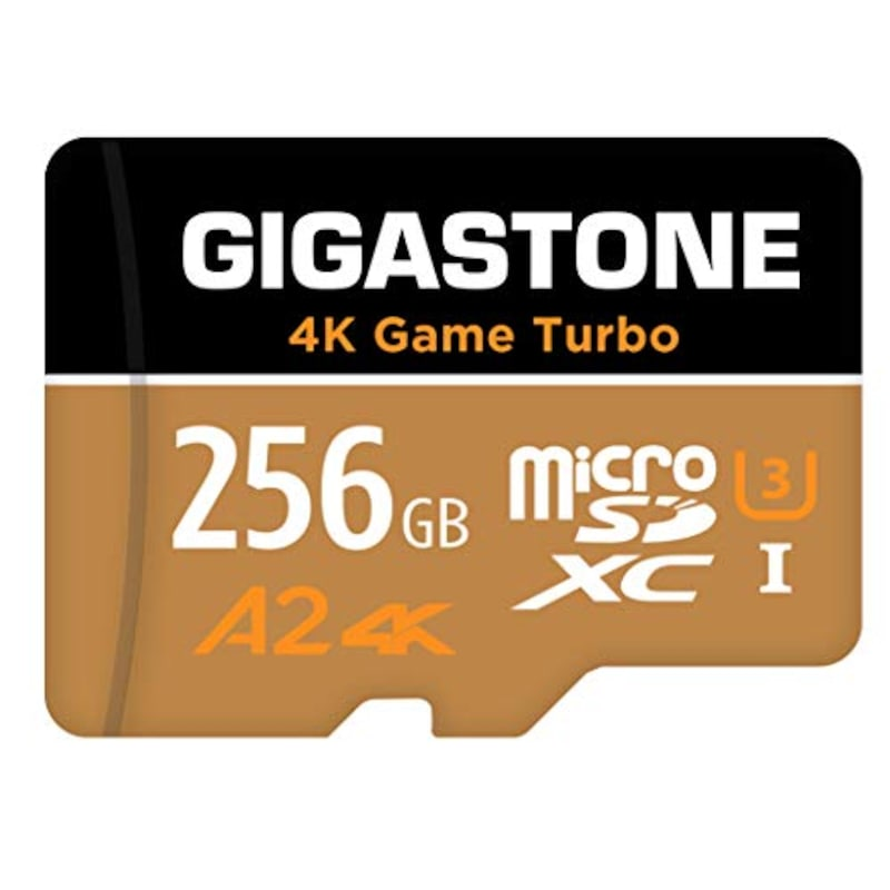 GIGASTONE(ギガストーン),マイクロSDカード 4K Game Turbo