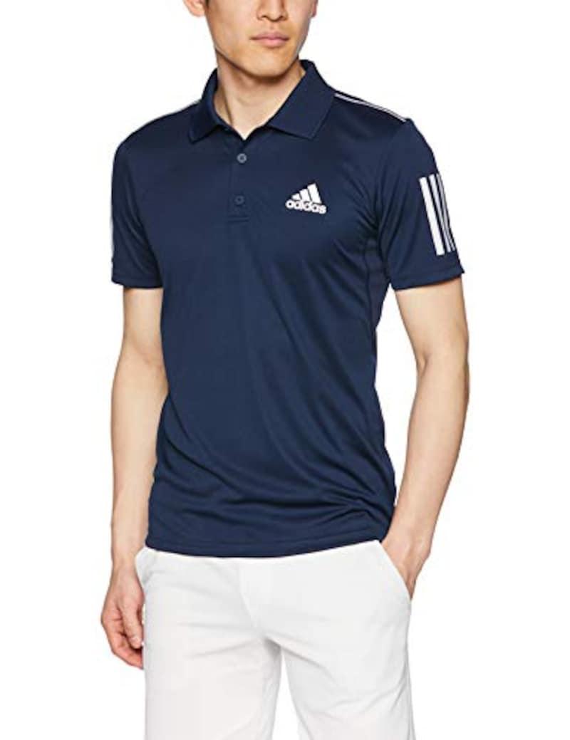 adidas(アディダス),スリーストライプス クラブ ポロシャツ,FRW69