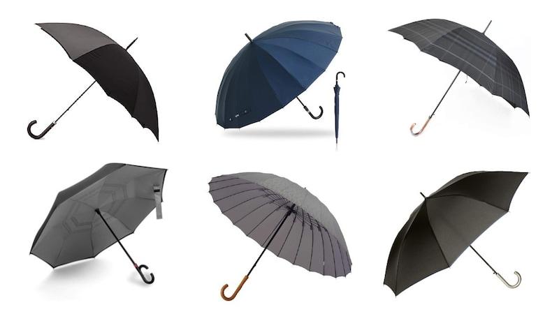 メンズ雨傘のおすすめ人気ランキング20選|高コスパ、ハイブランドなどのおしゃれアイテムを紹介