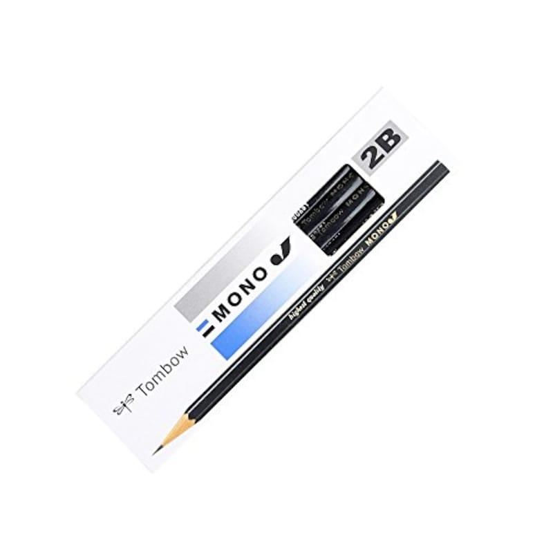 トンボ鉛筆,鉛筆モノJ  2B,MONO-J2B
