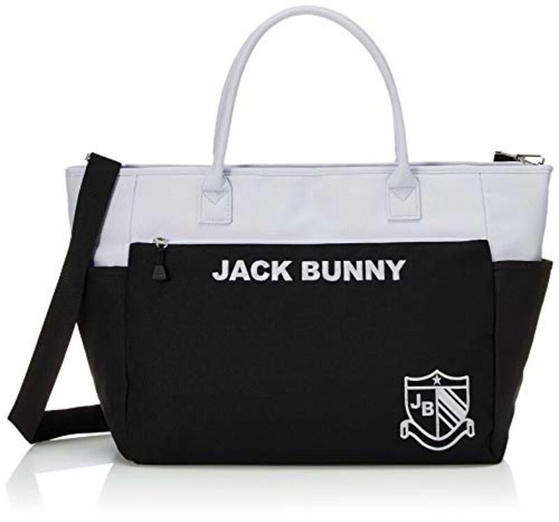 Jack Bunny(ジャックバニー),トートバッグ(バイカラー・ショルダー付き),262-0981120