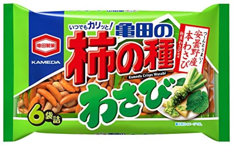 亀田製菓,亀田の柿の種 わさび
