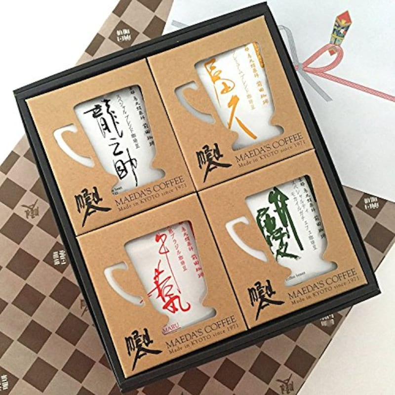 前田珈琲,前田珈琲 4種のドリップコーヒー ギフトセット