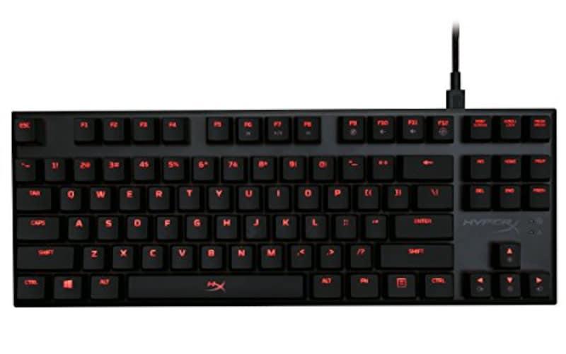 キングストンテクノロジー,HyperX Alloy FPS Pro ゲーミングキーボード,HX-KB4RD1-US/R1
