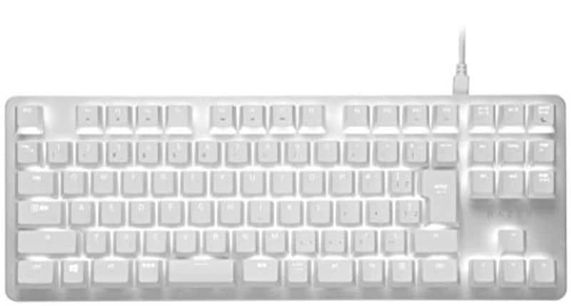 Razer(レイザー),BlackWidow Lite JP Mercury White,RZ03-02640800-R3J1