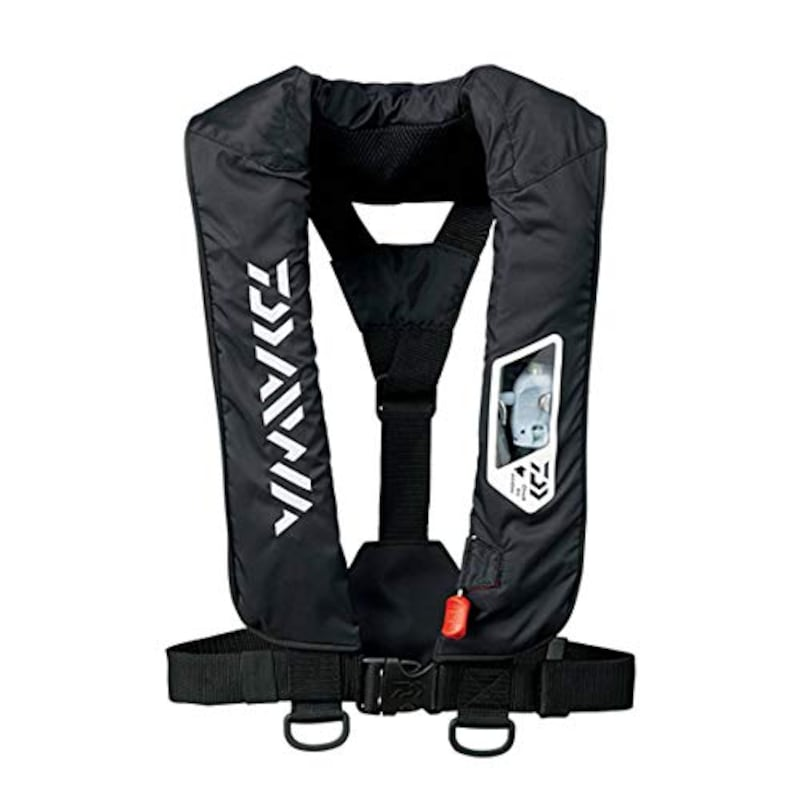 DAIWA(ダイワ),ウォッシャブルライフジャケット(肩掛けタイプ手動・自動膨脹式),DF-2007