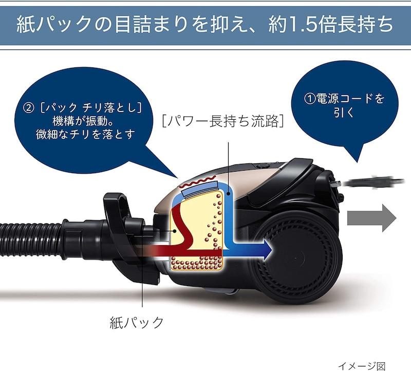 HITACHI(日立),紙パック式クリーナー,CV-KP300G