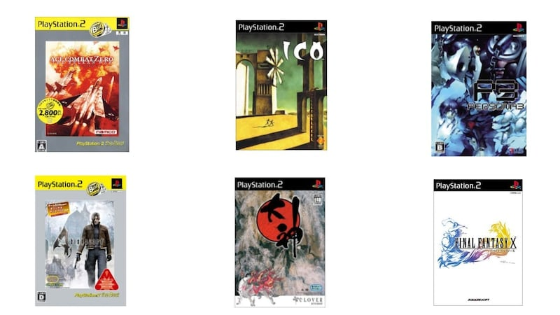 PS2ソフトおすすめ人気名作ランキング25選 アクションやRPG、レースなどジャンル別に紹介
