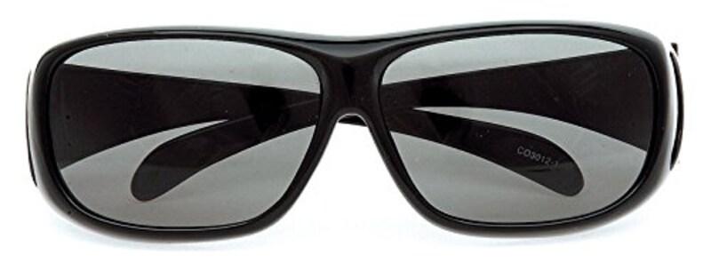 Coleman(コールマン),メガネの上にかけるオーバーサングラス,CO3012-1