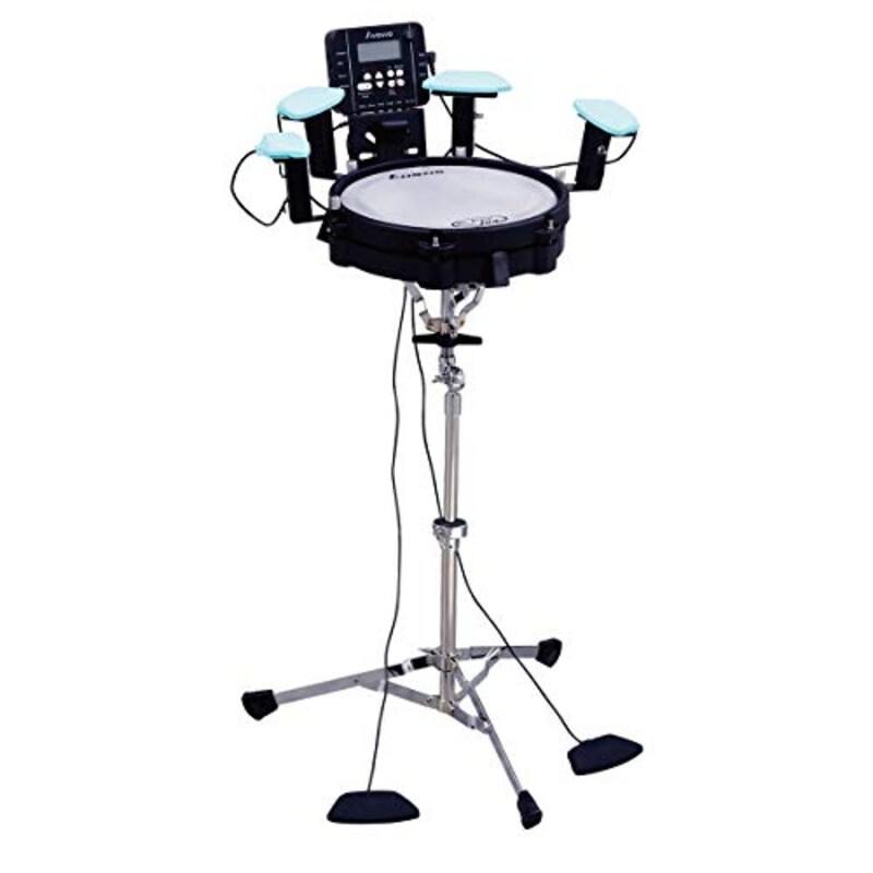 AWOWO(アウォウォ),MINI JUN コンパクト電子ドラムキット トレーニングパッド,mt0097998