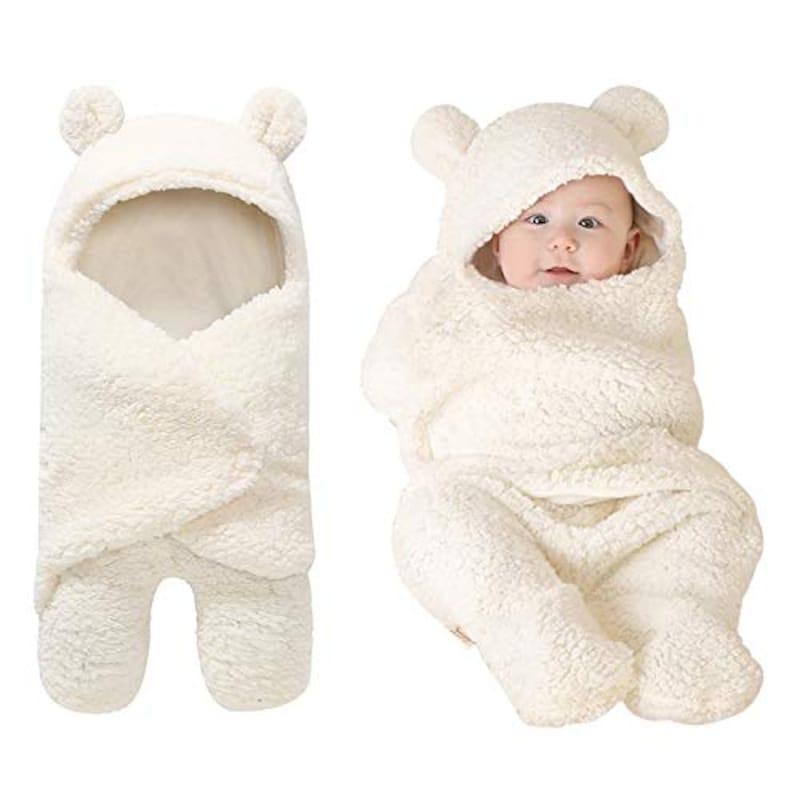 PARENTSWELL,ベビーおくるみ 足つきクマさん,NS0082