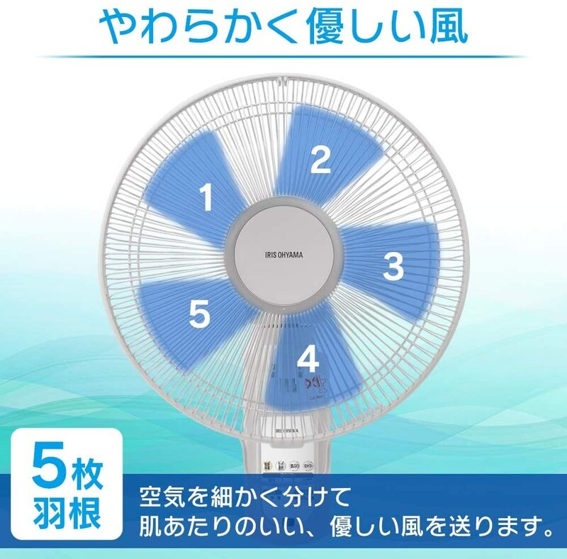 IRIS OHYAMA(アイリスオーヤマ),壁掛け扇風機,WFC-306