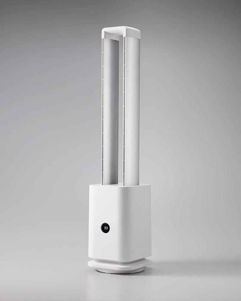 Chrester(クレスター),空気清浄機能付ツインエアーファン,COOL-Q-001W