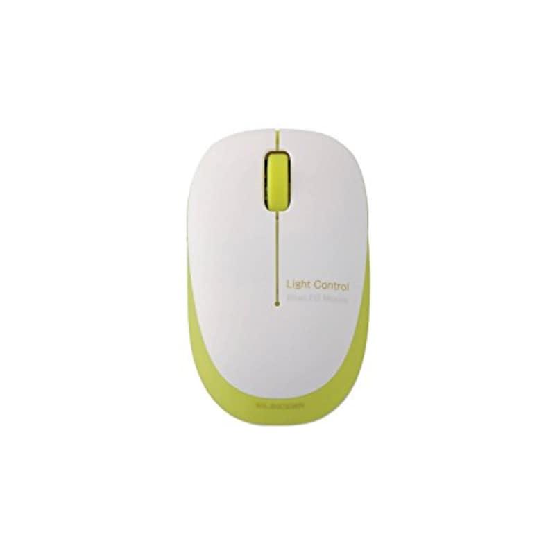 ELECOM(エレコム),Sサイズ マウス BlueLED ふわっと軽い 小型軽量 ,M-BL20DBGN