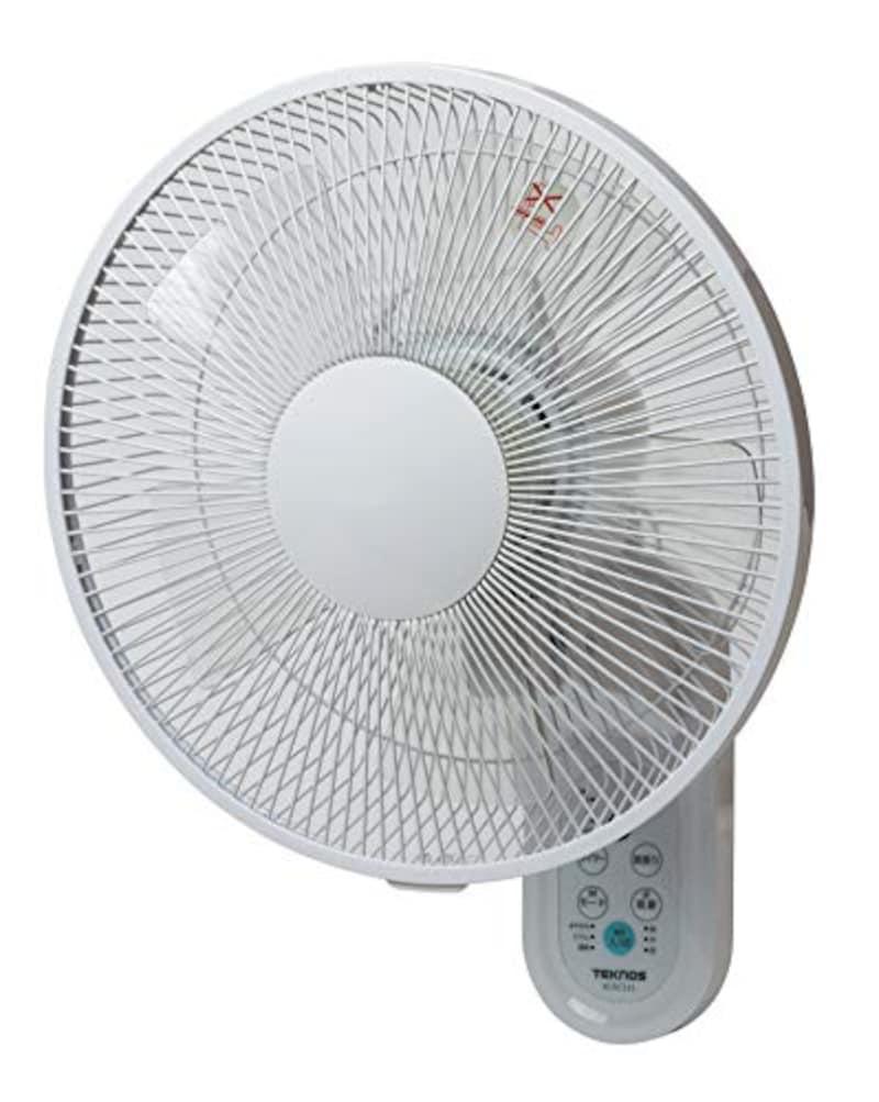 TEKNOS(テクノス),壁掛け扇風機 DCモーター搭載,KI-DC335