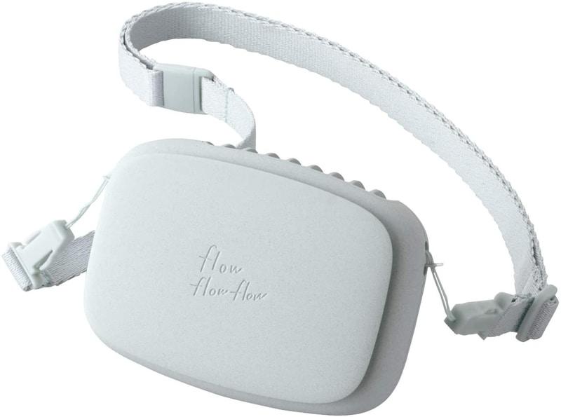 ELECOM(エレコム),USB扇風機 ハンズフリー ネックストラップ付,FAN-U206BU