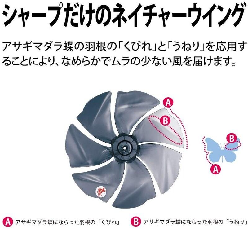 SHARP(シャープ),ハイポジション・リビングファン,PJ-L3DS-W